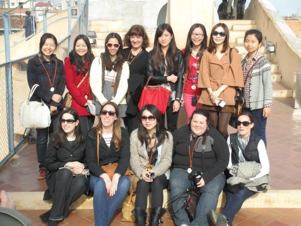 International Marketing Class - Barcelona, Spain